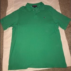 Vineyard vines green polo! One nice shirt!